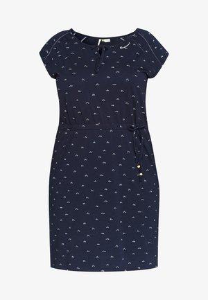 TETUAN ORGANIC PLUS - Jersey dress - navy
