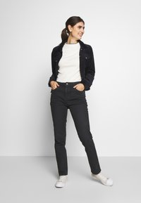 Esprit - MODERN - Jeans Tapered Fit - black - 1