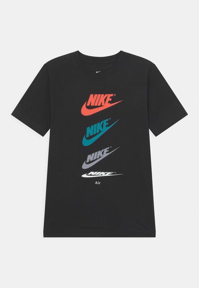 Nike Sportswear - FUTURA REPEAT - Print T-shirt - black
