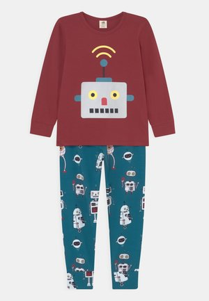 ROBOTS FRIENDS UNISEX - Pyjama set - turquoise