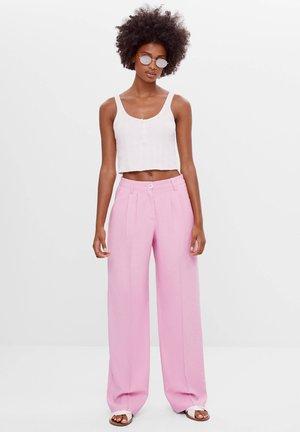 MIT WEITEM BEIN - Kalhoty - pink