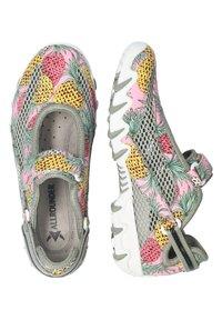 Allrounder - Ankle strap ballet pumps - multicol/lt militaire - 2