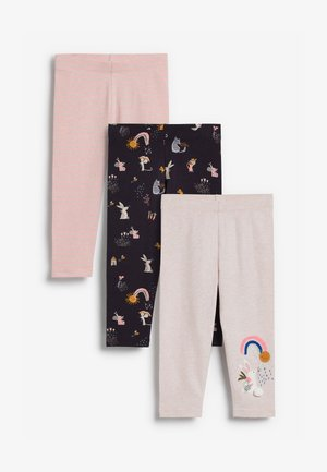 3 PACK - Leggings - Trousers - multi-coloured