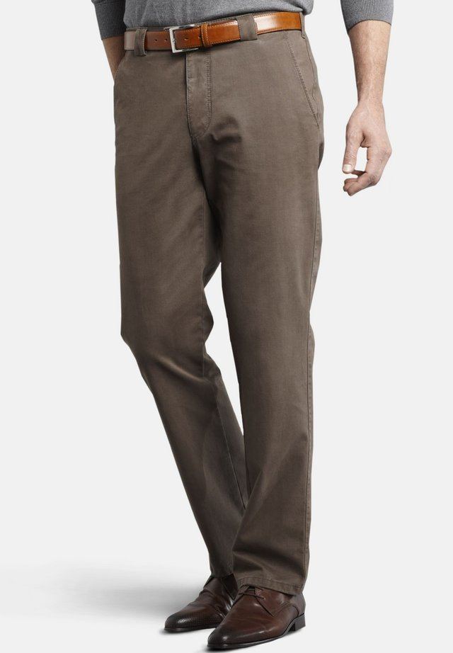 ROMA - Trousers - brown