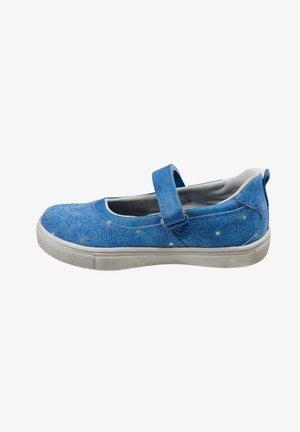 BLUMEN - Ankle strap ballet pumps - royal