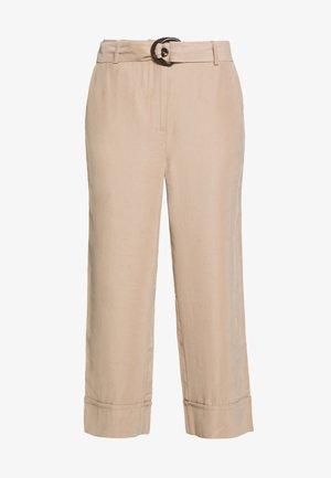 GUSTAVA CULOTTE PANTS - Kalhoty - cobblestone