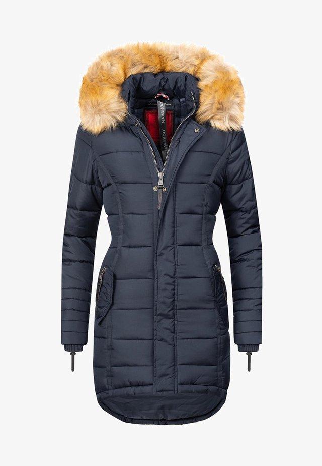 PAPAYA - Winter coat - blau