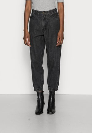 BAGGER ANKLE - Jeansy Relaxed Fit - black