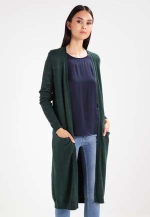 VIRIL LONG CARDIGAN - Cardigan - pine grove/melange