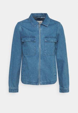 UTILITY JACKET - Kurtka jeansowa - blue
