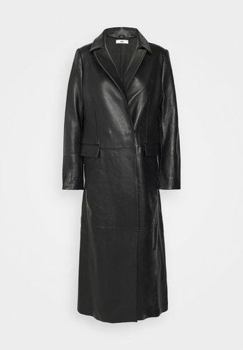 EVENING COAT - Classic coat - black