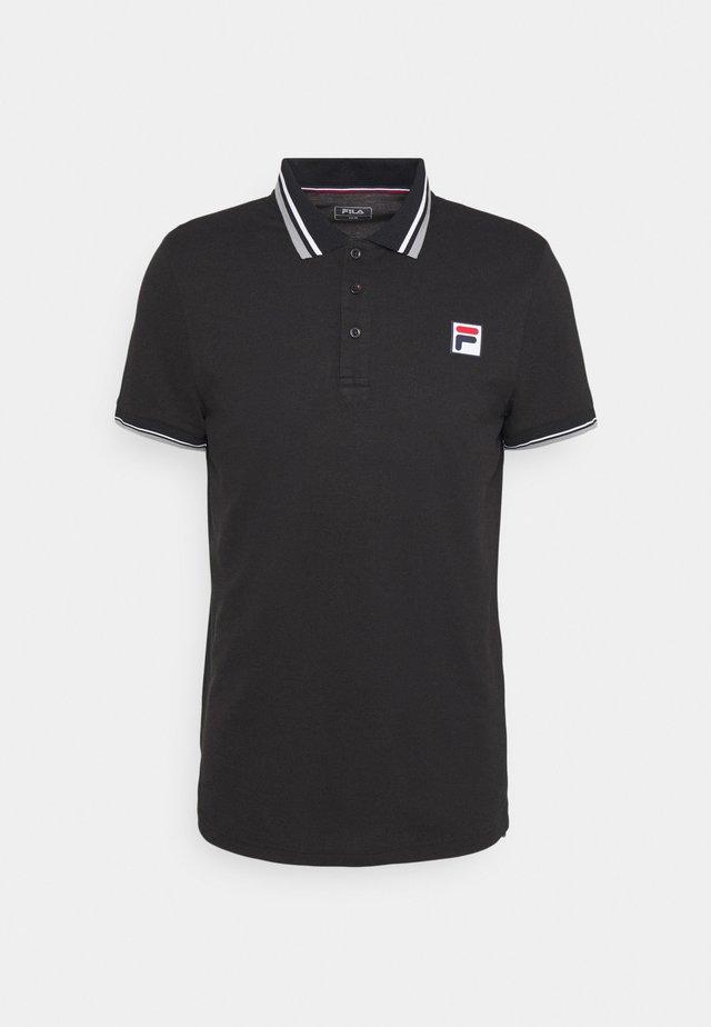ALBERT - T-shirt sportiva - black