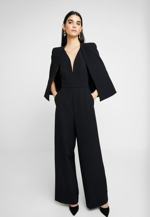 YVETTE CAPE - Jumpsuit - black