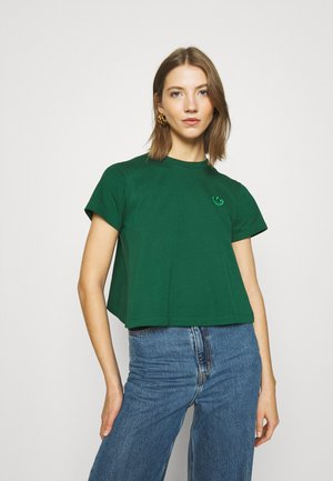 BELLISTA SPORTS INSPIRED SHORT SLEEVE TEE - T-shirt z nadrukiem - dark green