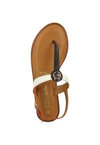 Tamaris - T-bar sandals - navy comb - 2