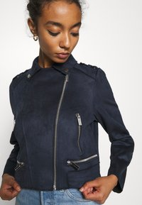 Morgan - GRAMMY - Faux leather jacket - marine - 5