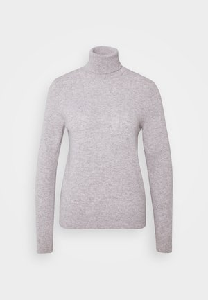 TURTLE NECK - Strikpullover /Striktrøjer - light grey