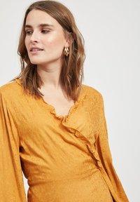 Object - Maxi dress - brown - 3