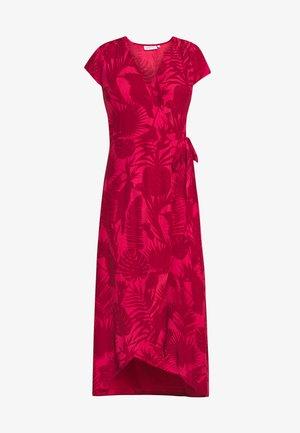 ARCHANA DRESS - Maxikjole - frutti red/dusty pink