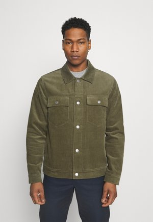 Summer jacket - deep lichen green