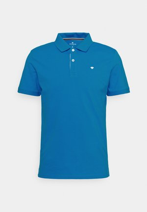 BASIC WITH CONTRAST - Polo shirt - bright ibiza blue