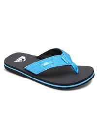 Quiksilver - MOLOKAI ABYSS  - Pool shoes - blue/black/blue - 1