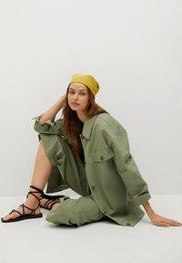 Mango - Summer jacket - khaki - 5