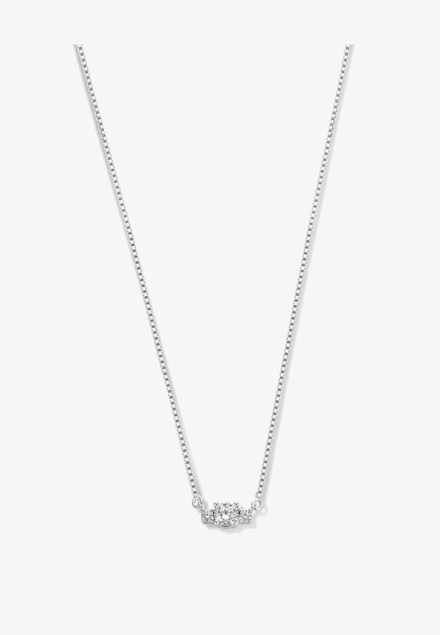 Necklace - silver-coloured