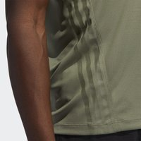 adidas Performance - AEROREADY TRAINING SLIM SHORT SLEEVE TEE - Triko s potiskem - green - 6