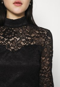 WAL G. - HIGH NECK DRESS - Cocktail dress / Party dress - black - 4