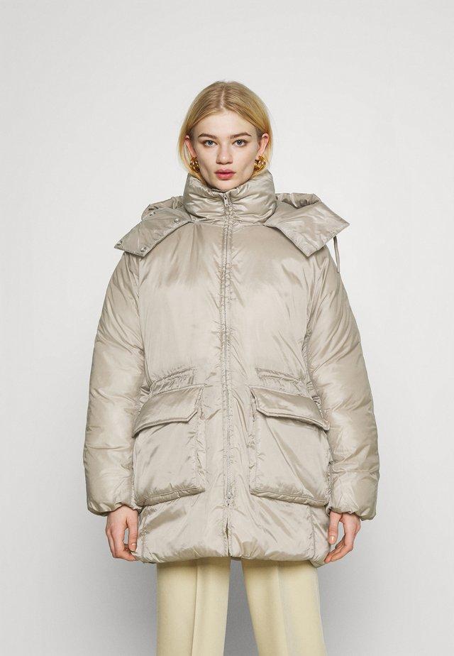 MARTINE PUFFER - Winter coat - beige