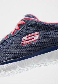 Skechers Sport - FLEX APPEAL 3.0 - Tenisky - slate/pink - 2