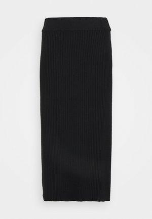 SKIRT - Pencil skirt - moonless night
