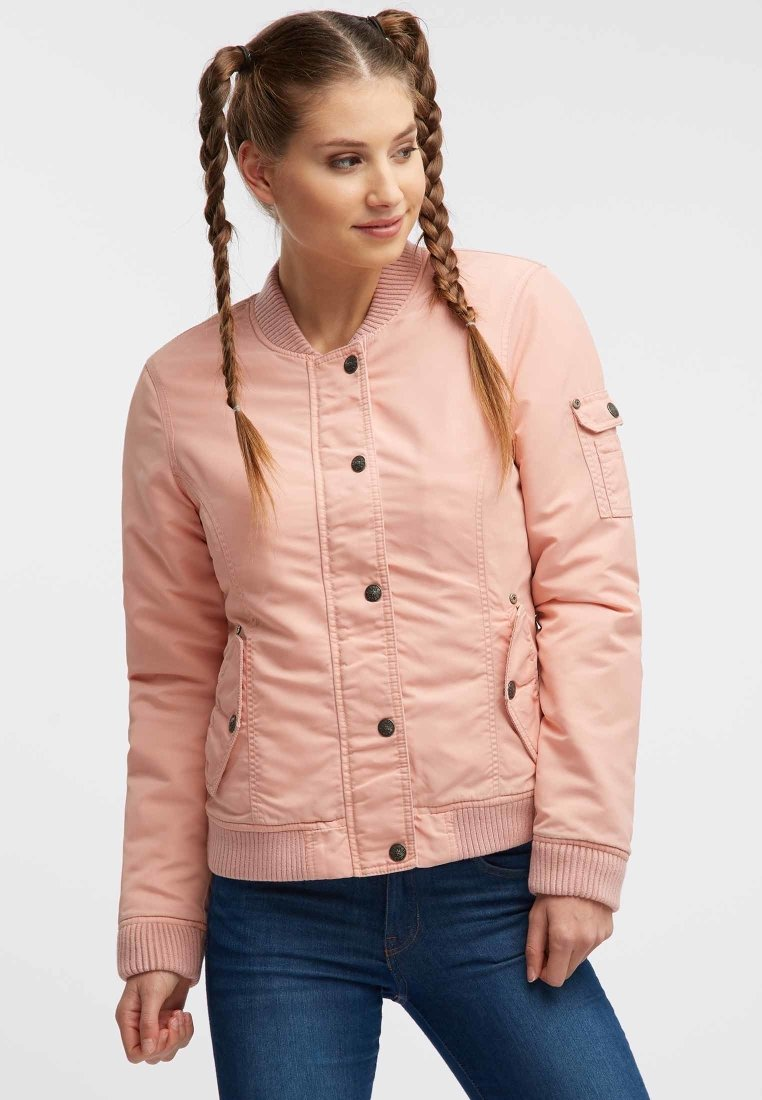 Super Specials Women's Clothing myMo Bomber Jacket rose iFYiNFEWM