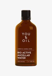 YOU & OIL - BIO ACTIVE MICELLAR WATER 100ML - Makeup remover - - - 0