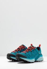 Salewa - DROPLINE GTX - Hiking shoes - ocean/canal blue - 2