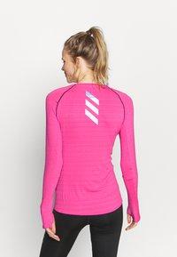 adidas Performance - ADI RUNNER - Funkční triko - scream pink - 2