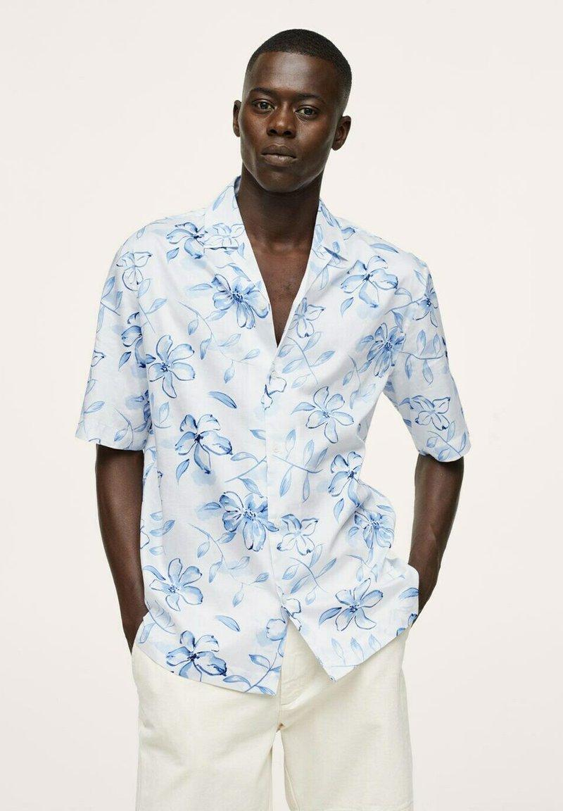 Mango - LAPORTA - Shirt - blanc cassé