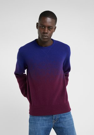 Jumper - blue/bordeaux