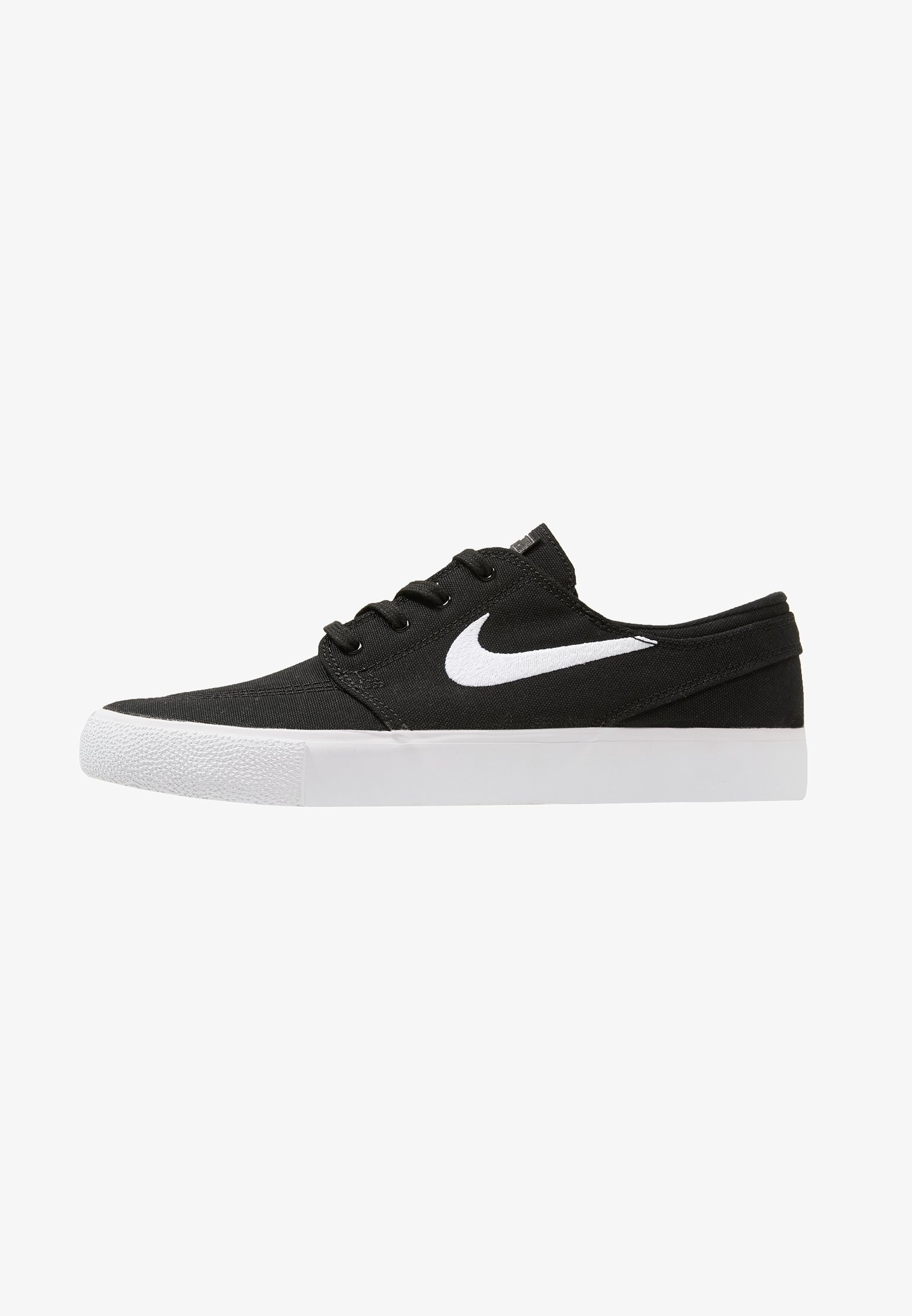 Bocadillo tsunami rodillo  Nike SB ZOOM JANOSKI UNISEX - Zapatillas - black/white/negro - Zalando.es