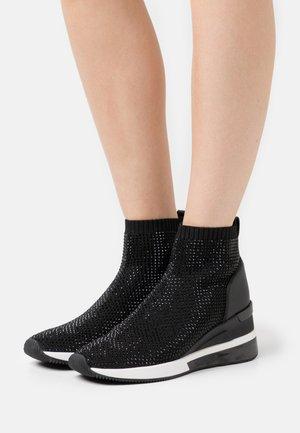 SKYLER BOOTIE EXTREME - Sneakers hoog - black