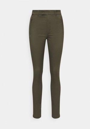 WELD HIGH CHINO - Trousers - khaki