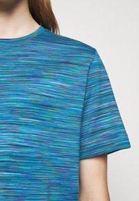 Missoni - SHORT SLEEVE - T-shirt con stampa - blue - 5