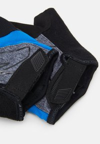 Ziener - CRAVE - Fingerless gloves - grey melange/persian blue - 3