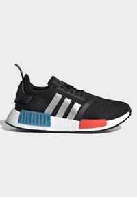 adidas Originals - NMD_R1 SHOES - Trainers - core black/silver metallic/solar red - 6