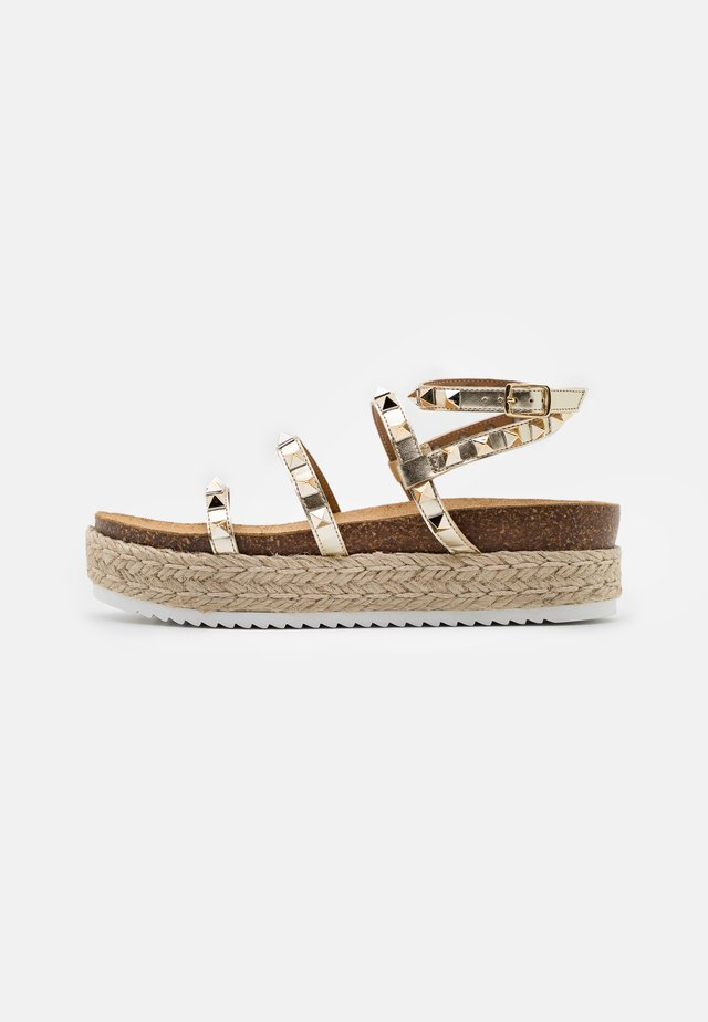 KAILEE - Espadrilles - gold