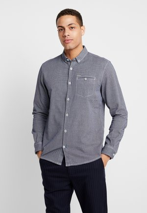 DOBBY  - Camisa - white / structure blue