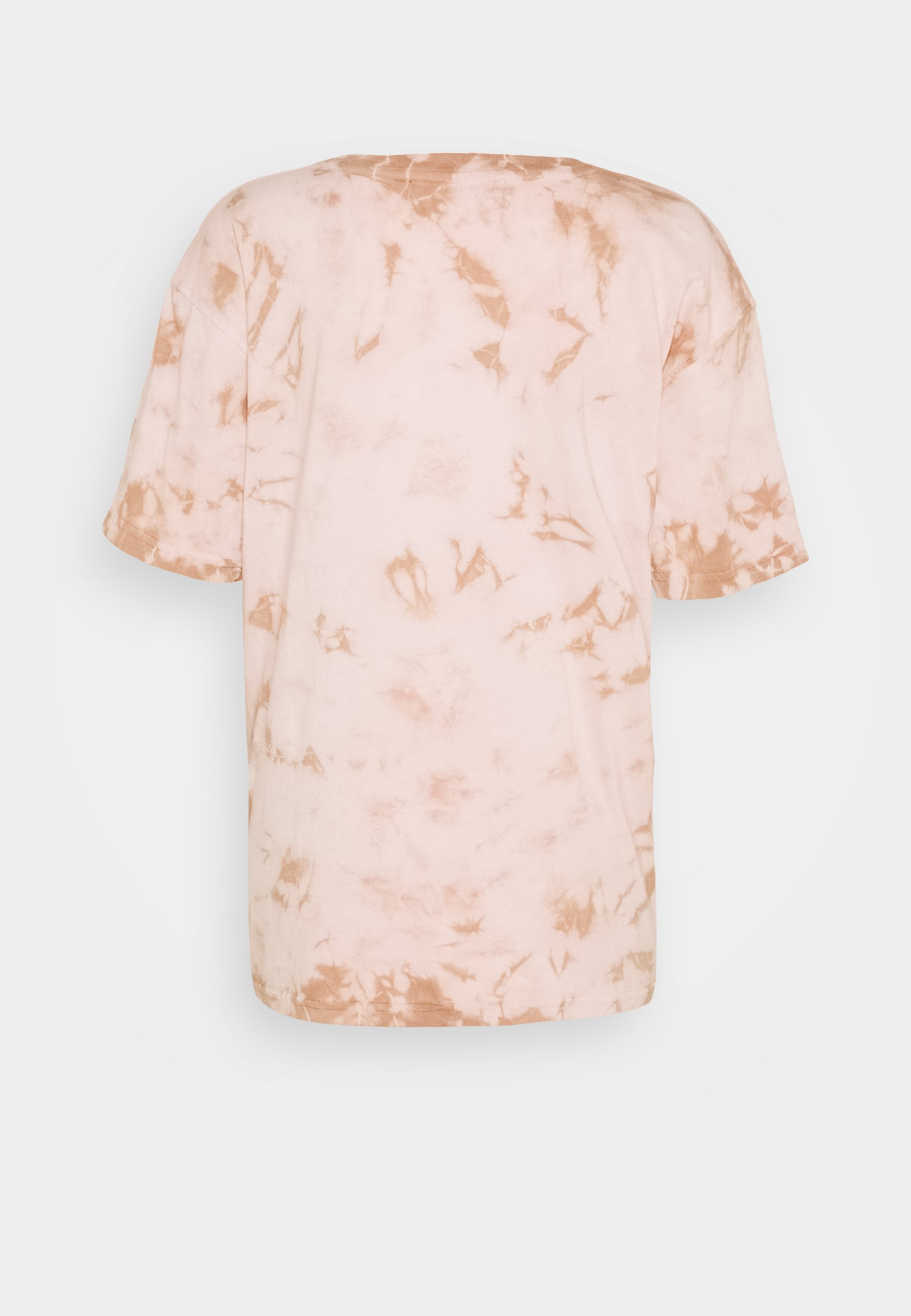Missguided PLAYBOY TIE DYE OVERSIZED - Camiseta estampada - stone FrLIM