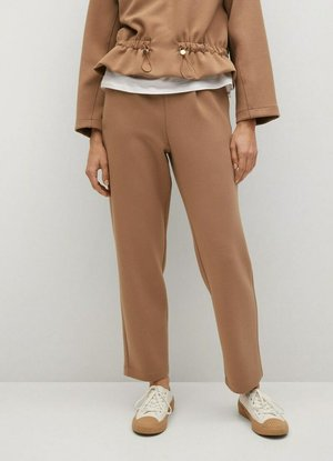 PAPIER - Trousers - marrone medio