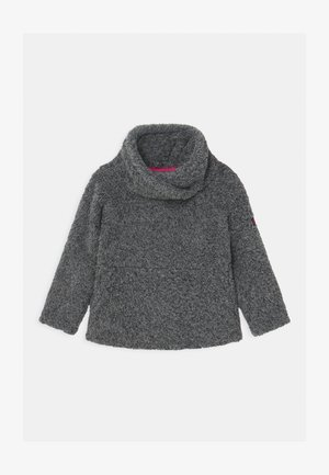 HAZEL - Fleece jumper - black out